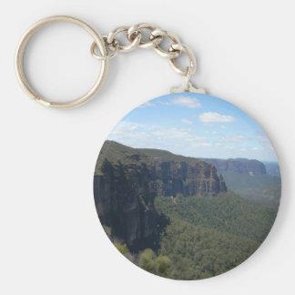 Blue Mountains Key Chain