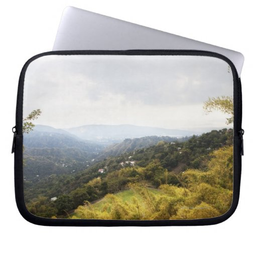 Blue Mountains over looking Kingston Laptop Computer Sleeves