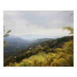 Blue Mountains over looking Kingston Poster