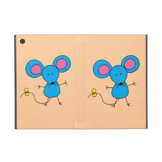 Blue mouse iPad mini covers
