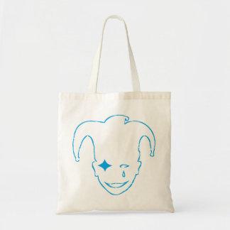 Blue MTJ Tote Bag