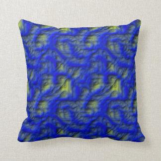 Blue Mud Pillow