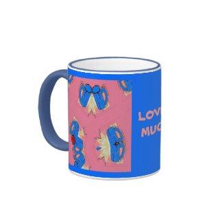 Blue Mug Love mug