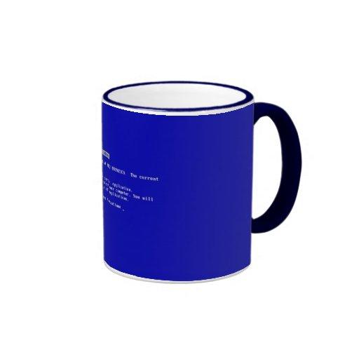 Blue mug of Death