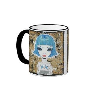 Blue Muse Mug mug
