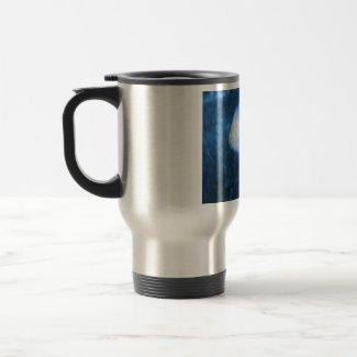 Blue Mushroom mug