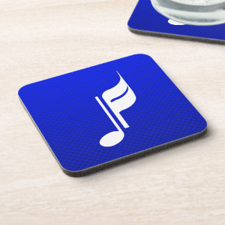 Blue Music Note Coasters
