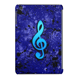 Blue Music Note Symbol iPad Mini Retina Cases