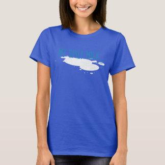 Blue My Spilt Milk logo T T-Shirt