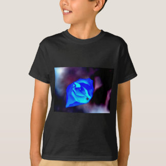 Blue Mystic Flower T-Shirt