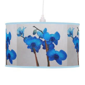 Blue Mystique Orchid Pendant Lamp