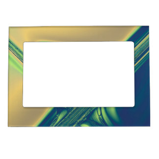 Blue n' Gold Crossings Magnetic Picture Frame
