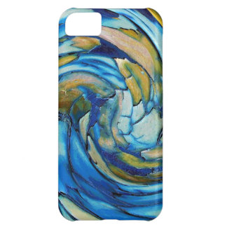 Blue N Gold Dolphin vs Eagle iPhone 5C Case