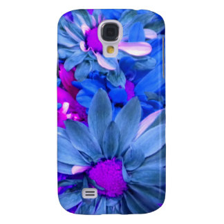 Blue N Purple Daisies iPhone 3 Speck case