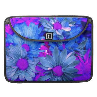 """Blue N Purple Daisies MacBook Pro 15"""" Sleeve Sleeve For MacBooks"""