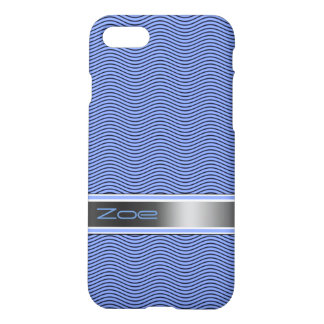Blue Named Waves iPhone 7 Case