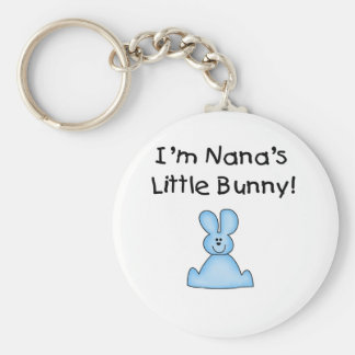 Blue Nana's Little Bunny T-shirts and Gifts Key Chains
