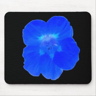 Blue Nasturtium Mousepad
