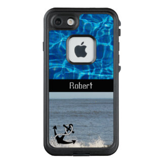 Blue Nautical Look - LifeProof FRĒ iPhone 7 Case