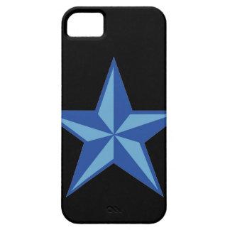 Blue Nautical Star iPhone 5 Case