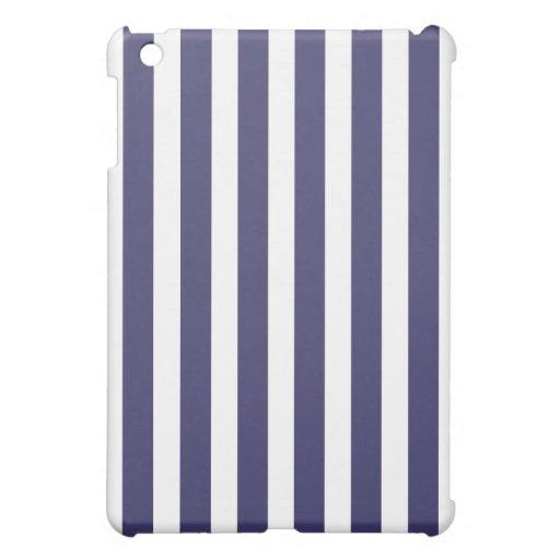Blue Nautical Stripe Case iPad Mini Cases