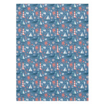 Blue Nautical Tablecloth