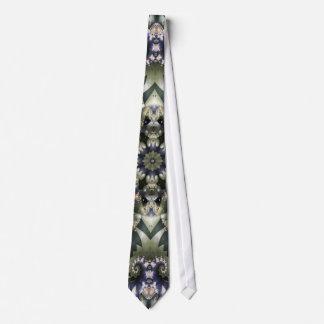 Blue Nautilus Neck Tie