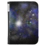 Blue Nebula Case For The Kindle
