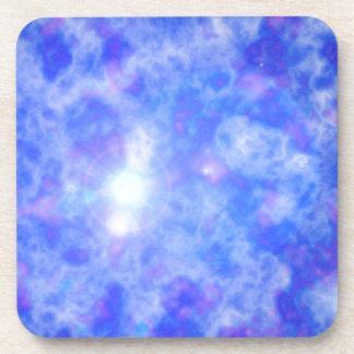 Blue Nebula Coaster