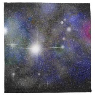 Blue Nebula Napkin