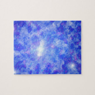 Blue Nebula Jigsaw Puzzles