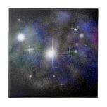 Blue Nebula Tiles