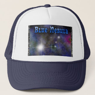 Blue Nebula Trucker Hat