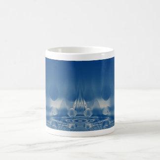 Blue Neon 2 Coffee Mug