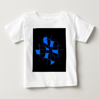 Blue neon design baby T-Shirt