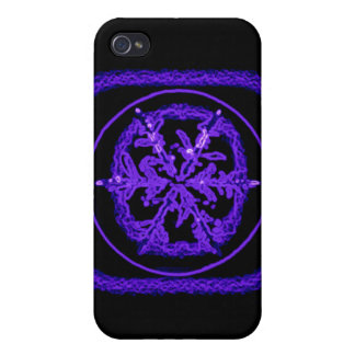 Blue Neon iPhone 4 Covers