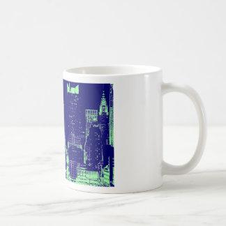 Blue New York City Coffee Mug