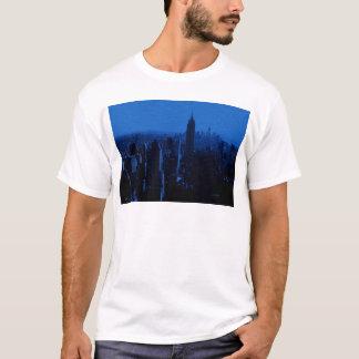 Blue New York City Night T-Shirt