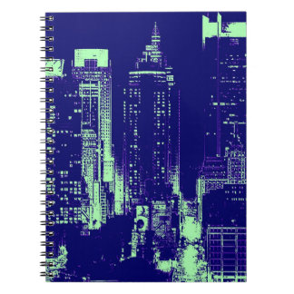Blue New York City Notebook