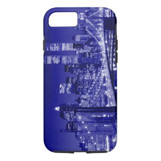 Blue New York City Tough iPhone 7 Case