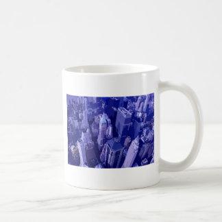 Blue New York Coffee Mug