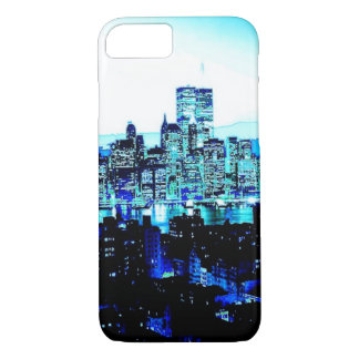 Blue New York iPhone 7 Case