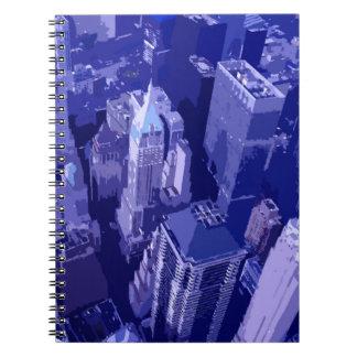 Blue New York Notebook