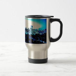 Blue New York Travel Mug