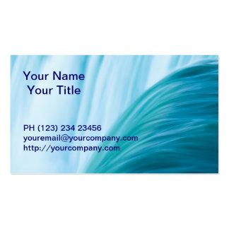 Blue Niagara Falls Waterfall Business Card
