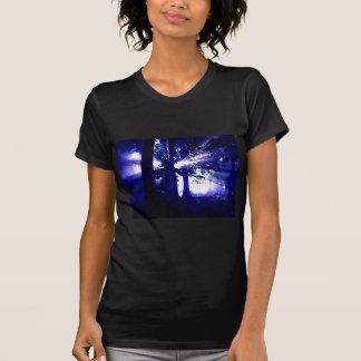 Blue Night Trees T-Shirt