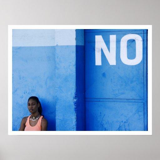 blue no more poster