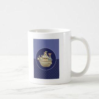 Blue Noah's Ark Coffee Mug