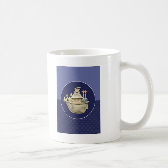 Blue Noah's Ark Coffee Mug