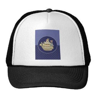Blue Noah's Ark Trucker Hat
